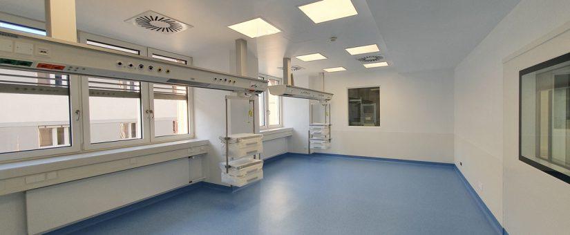 Intensiv-Überwachungsbetten einer Klinik in Mainz – 420 T€ Elektrotechnik